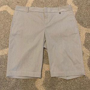 NWT Calvin Klein Pinstripe Bermuda Shorts